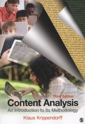 Content analysis : an introduction to its methodology / Klaus Krippendorff