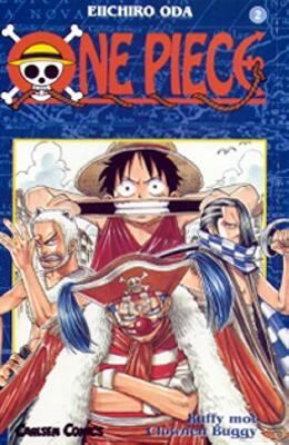 One piece: [2] Ruffy mot clownen Buggy
